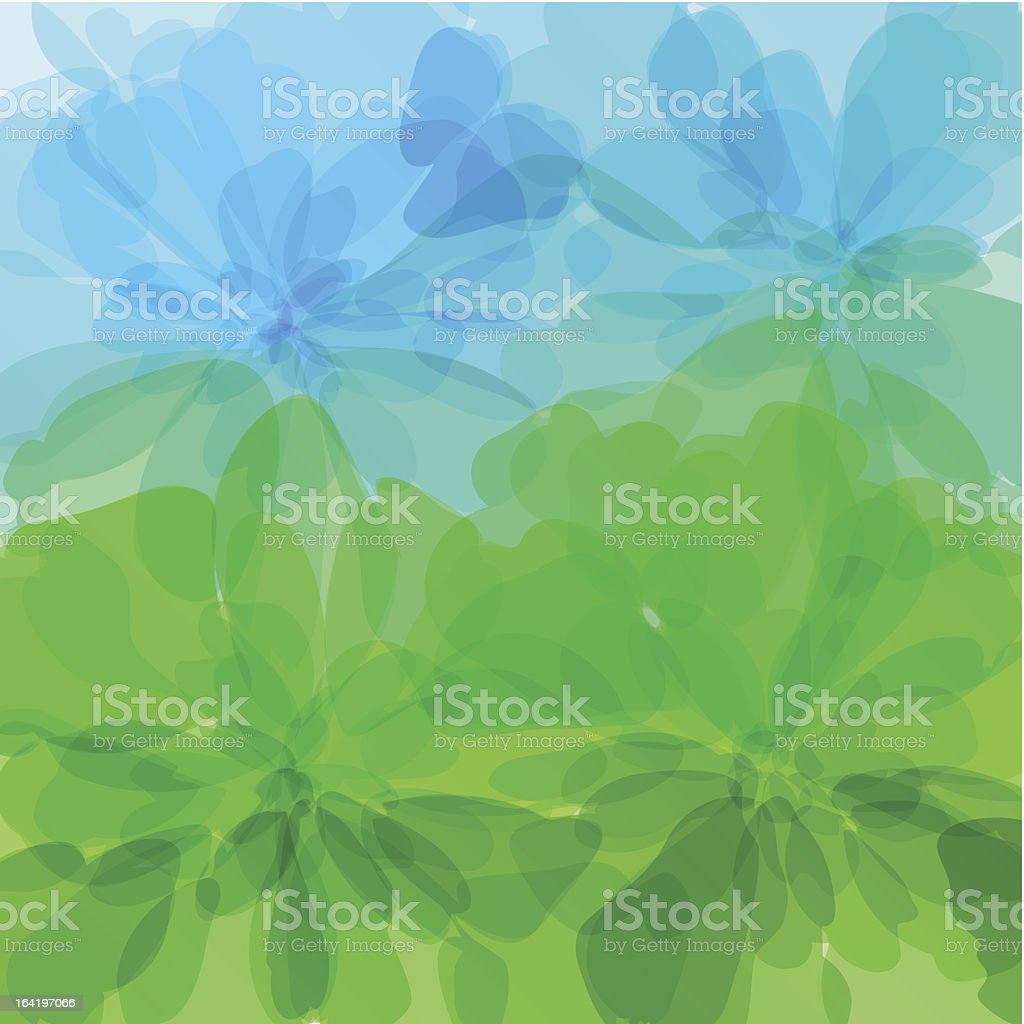 Multicolored background watercolor painting royalty-free stock vector art