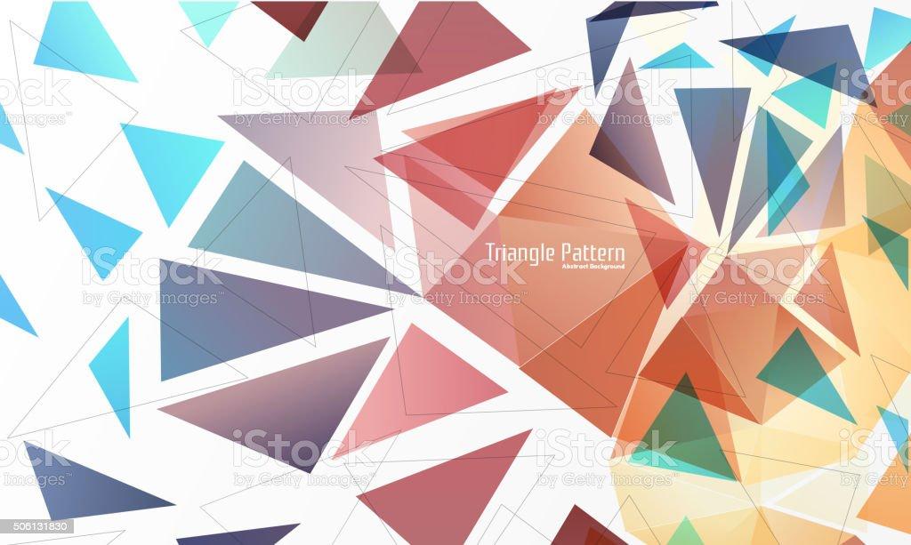 Multicolored mosaic background. vector art illustration