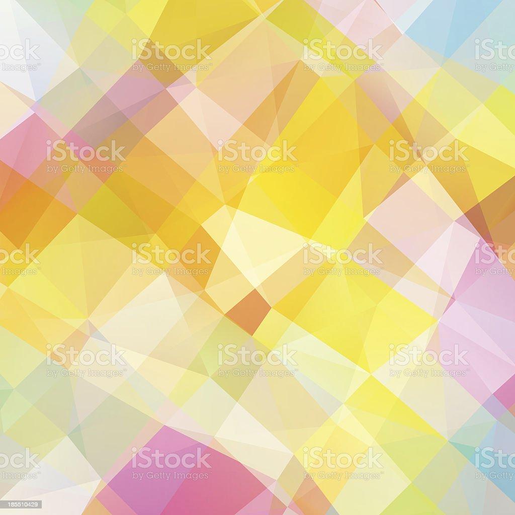 Mosaico de pixel vetor multicolorida vetor e ilustração royalty-free royalty-free