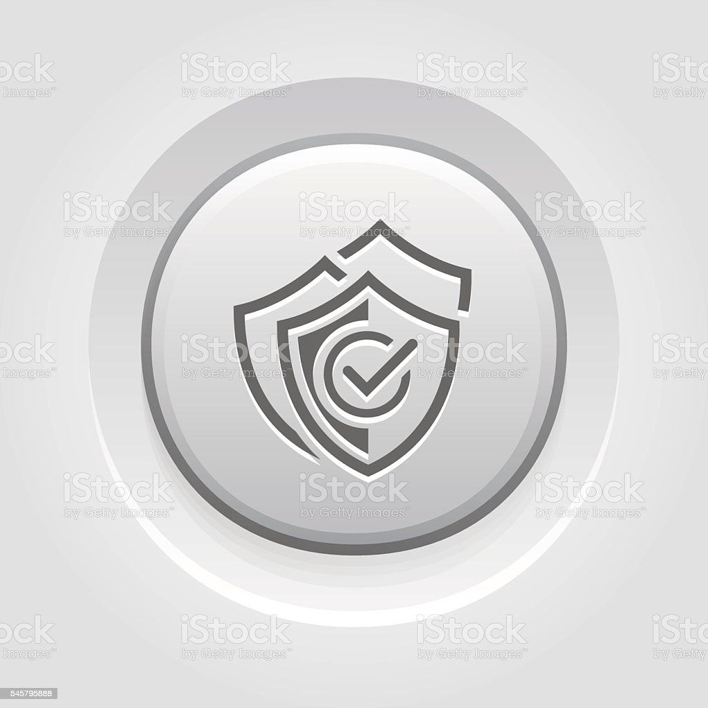 Multilevel Security Icon. Flat Design. vector art illustration