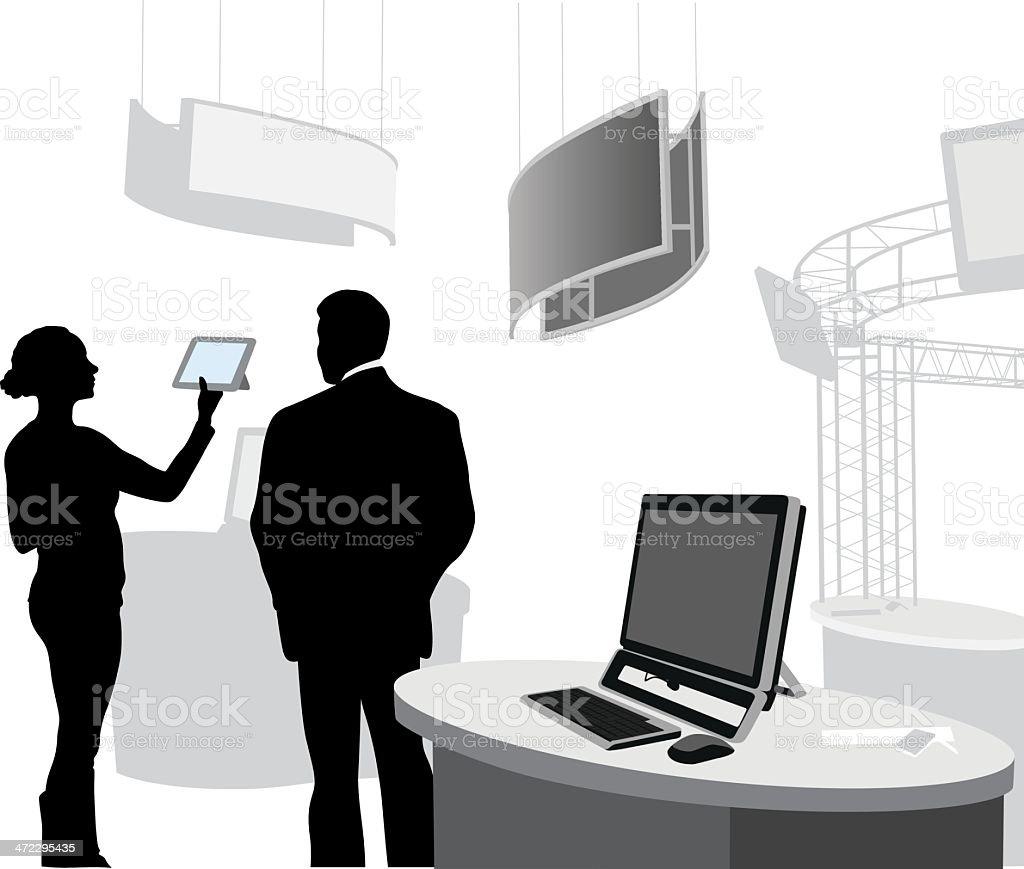 Multimedia Vector Silhouette royalty-free stock vector art