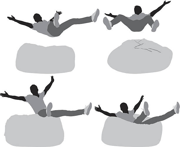 Bean Bag Chair Clip Art, Vector Images & Illustrations - iStock