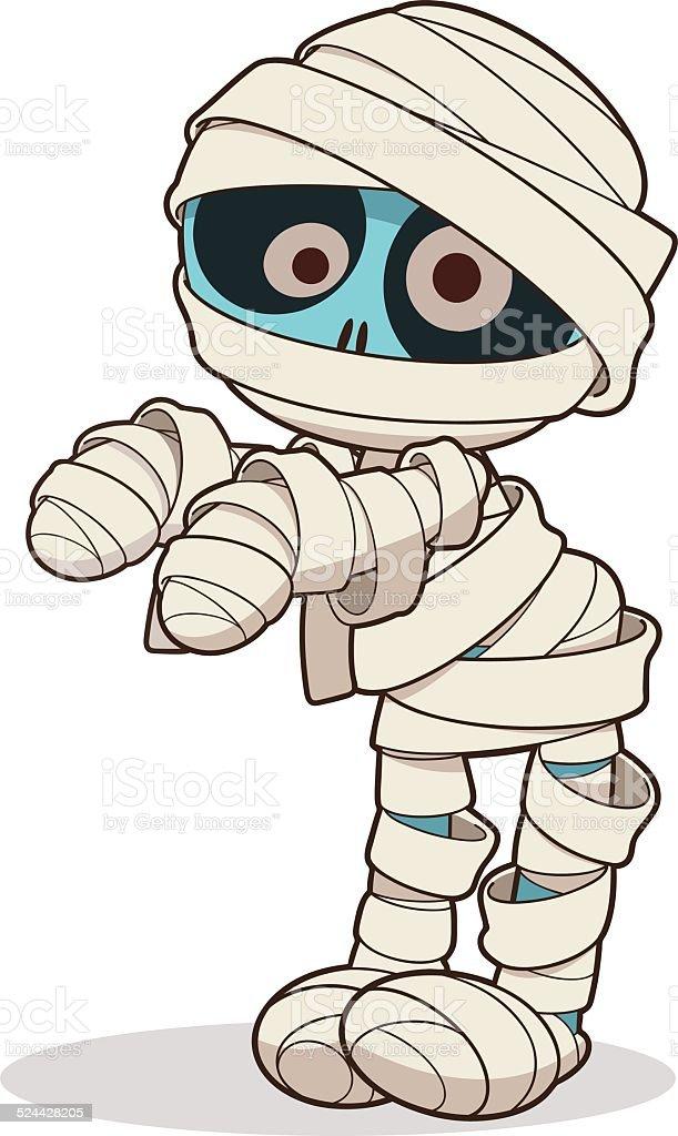 Mummy vector art illustration