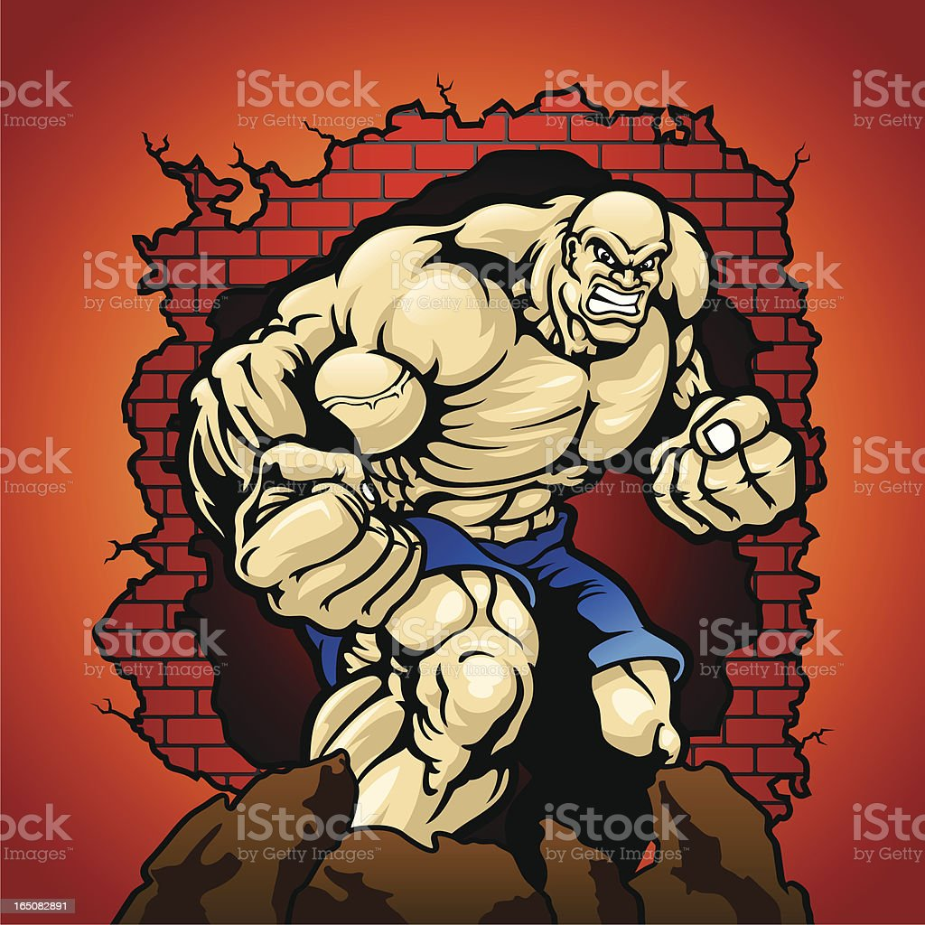 muscle_man royalty-free stock vector art
