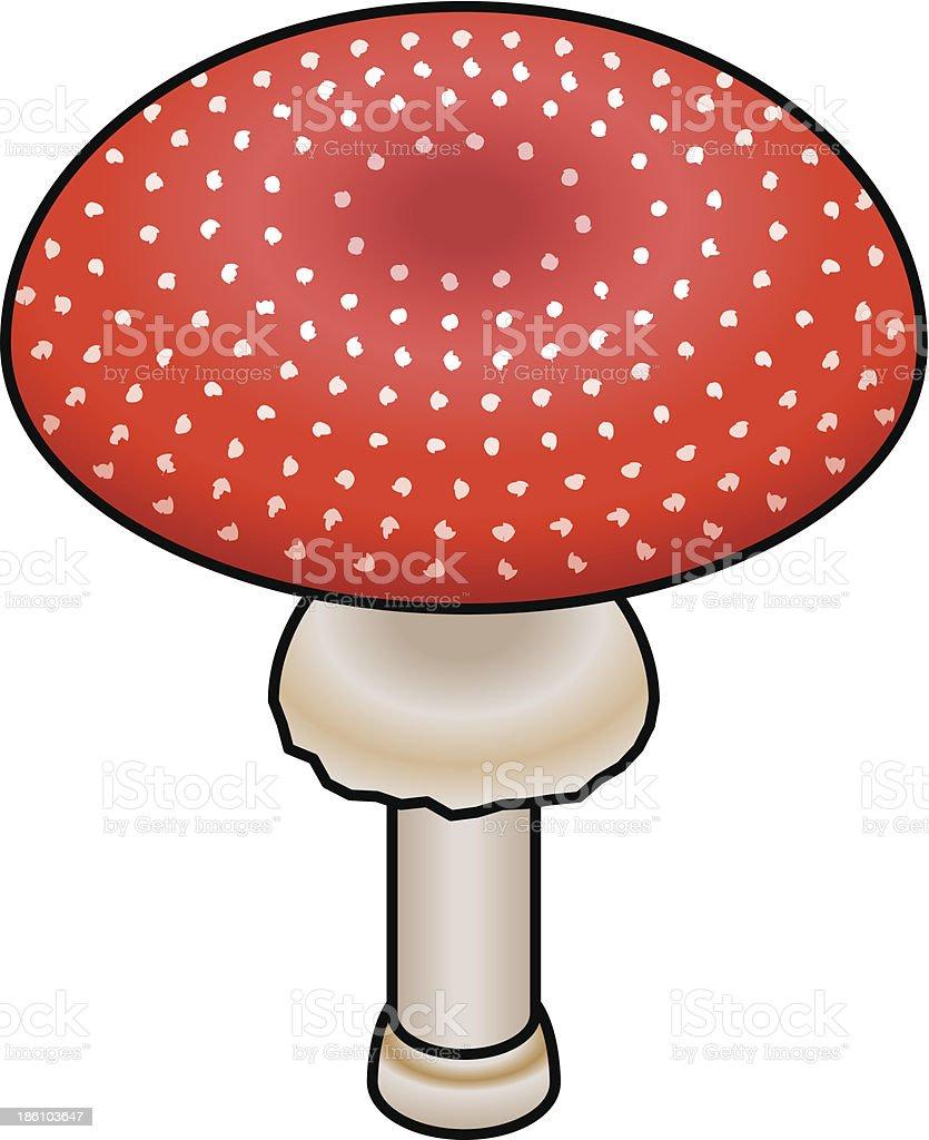 Mushroom royalty-free stock vector art