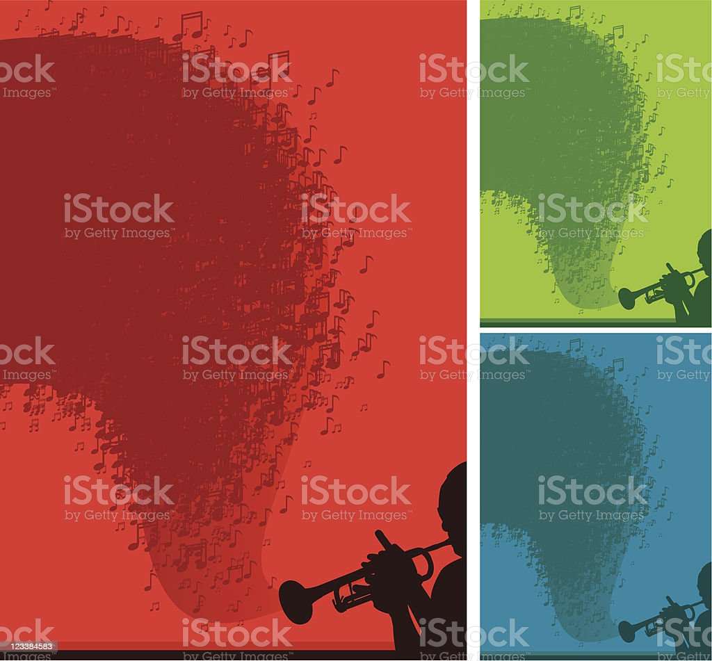Music abstract royalty-free stock vector art