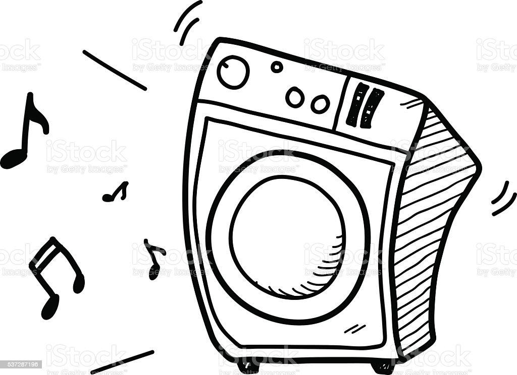 music audio speaker system stock vector art 537287196
