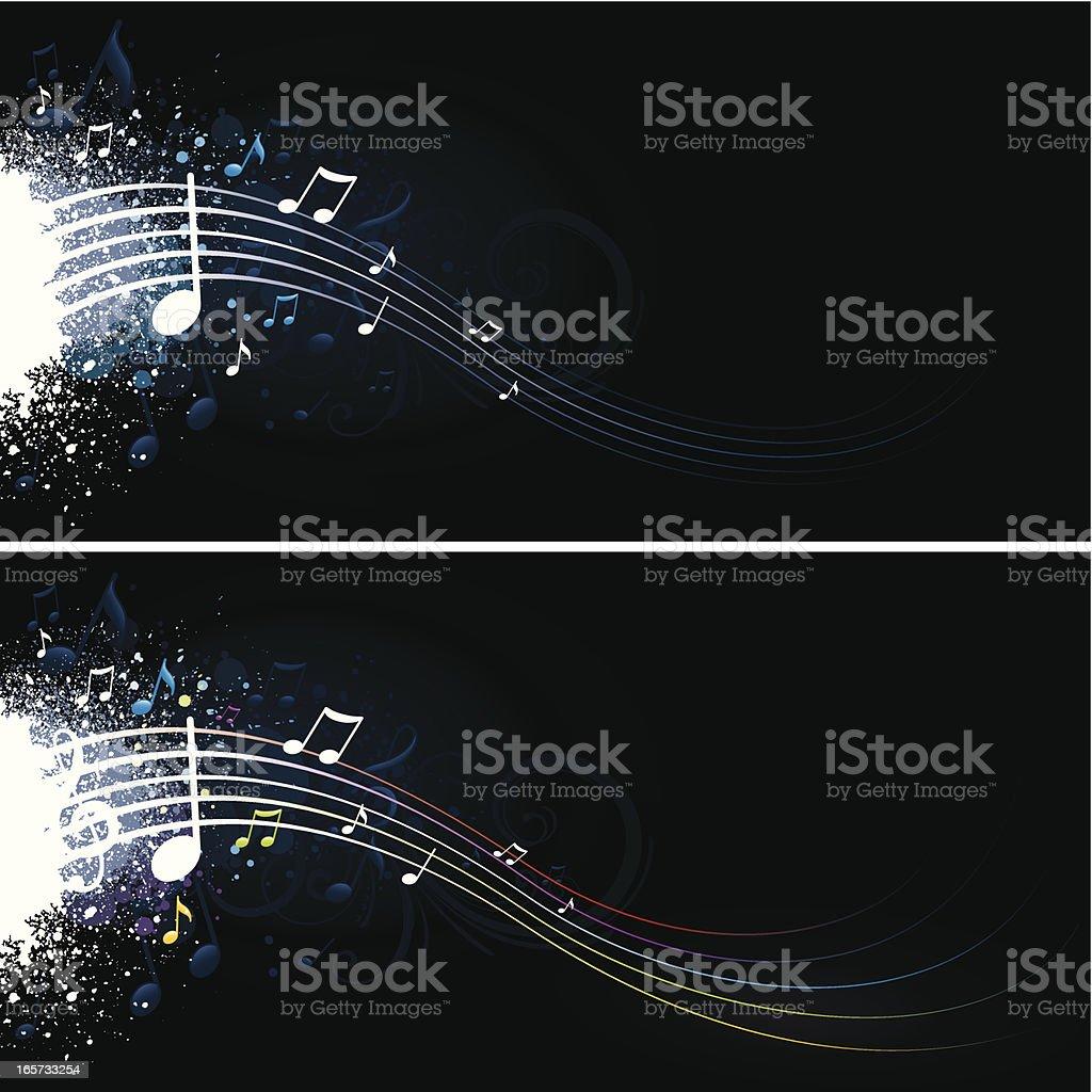 Music blast royalty-free stock vector art