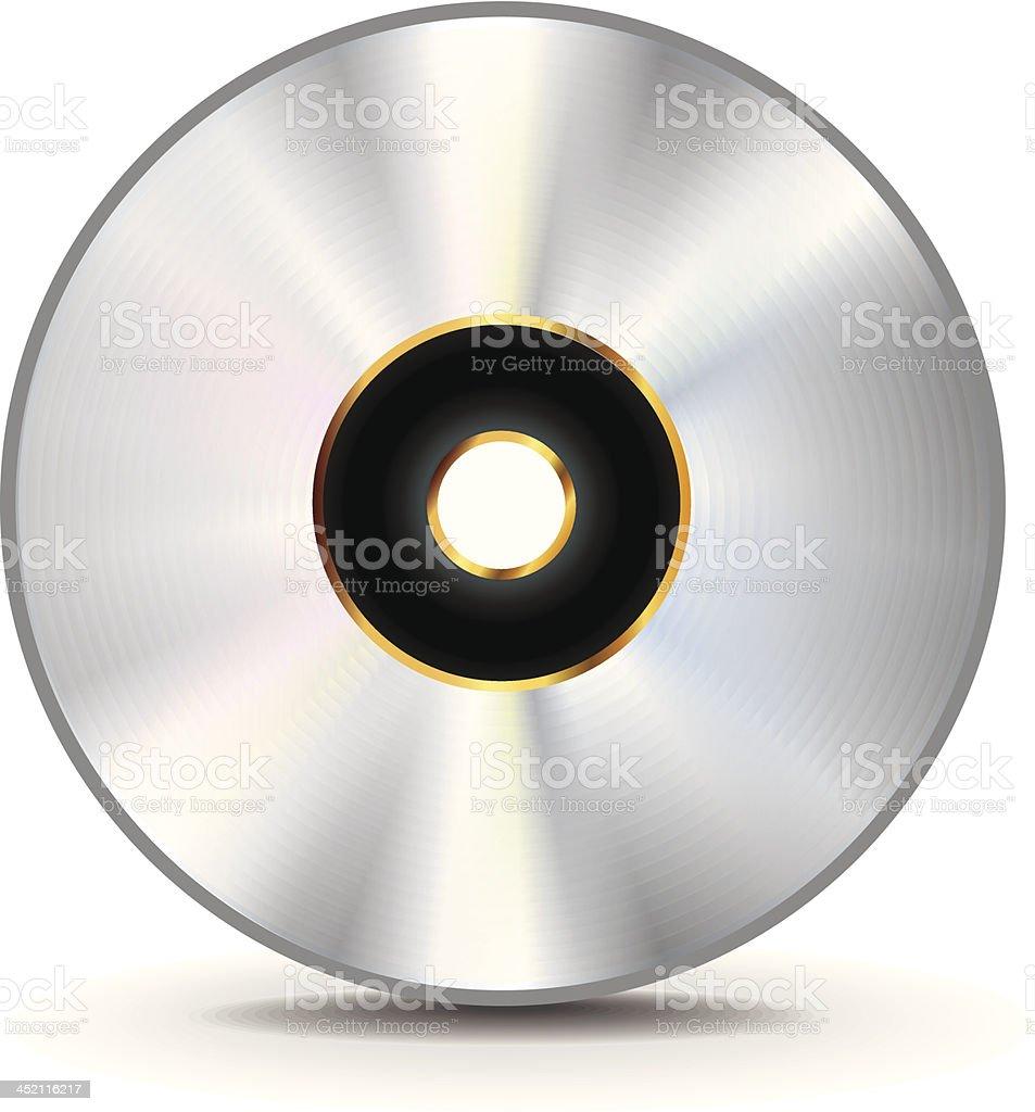 Music CD royalty-free stock vector art