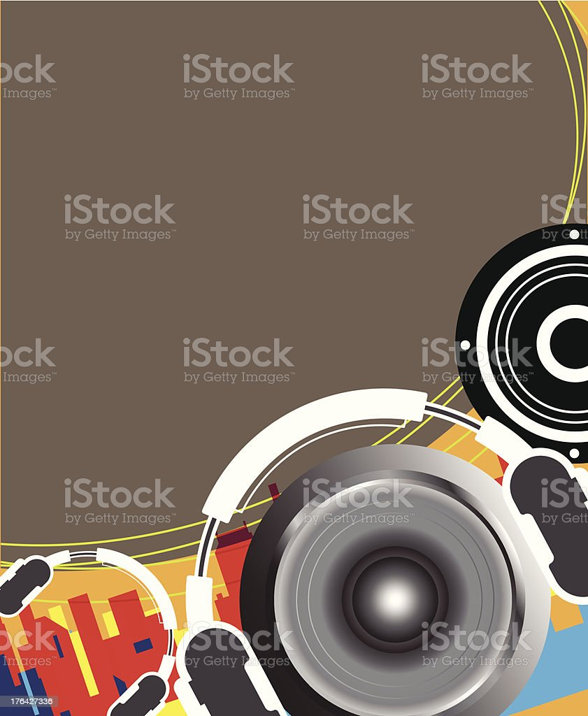 music concept design royalty-free stock vector art