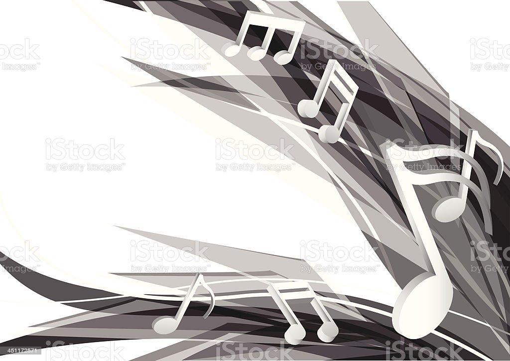 music design background royalty-free stock vector art