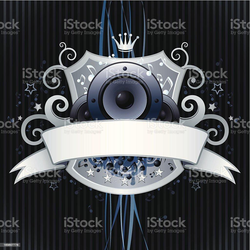 Music design royalty-free stock vector art