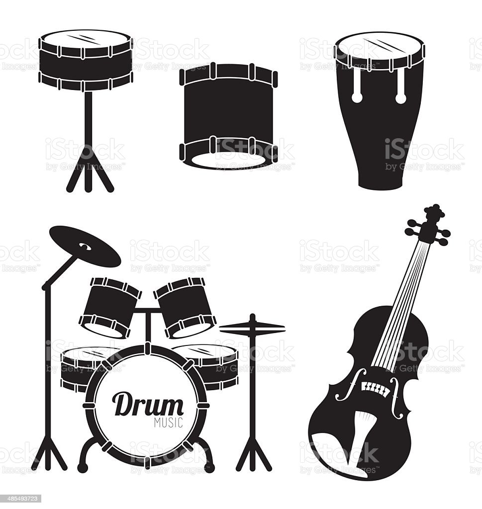 snare drum clip art  vector images  u0026 illustrations