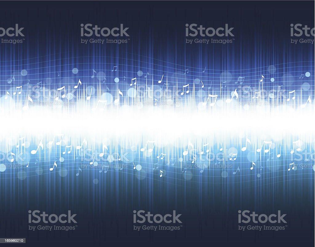 Music equalizer background vector art illustration