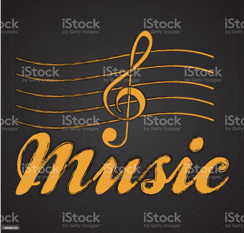 music note royalty-free stock vector art