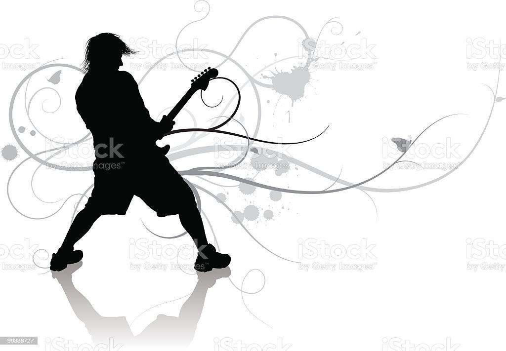 Music Swirls royalty-free stock vector art