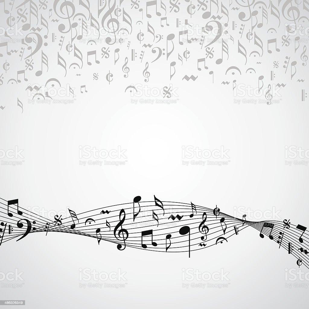 music theme icon vector art illustration