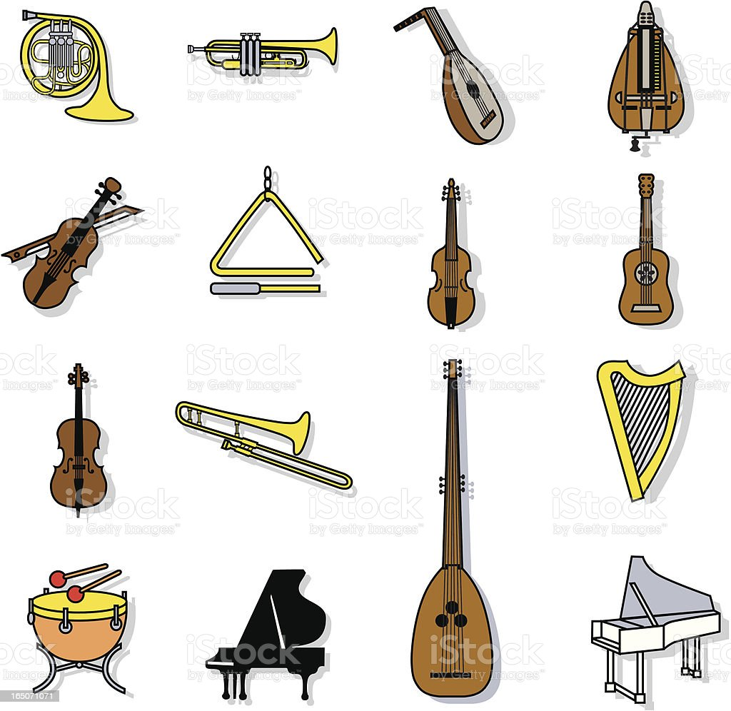 music royalty-free stock vector art