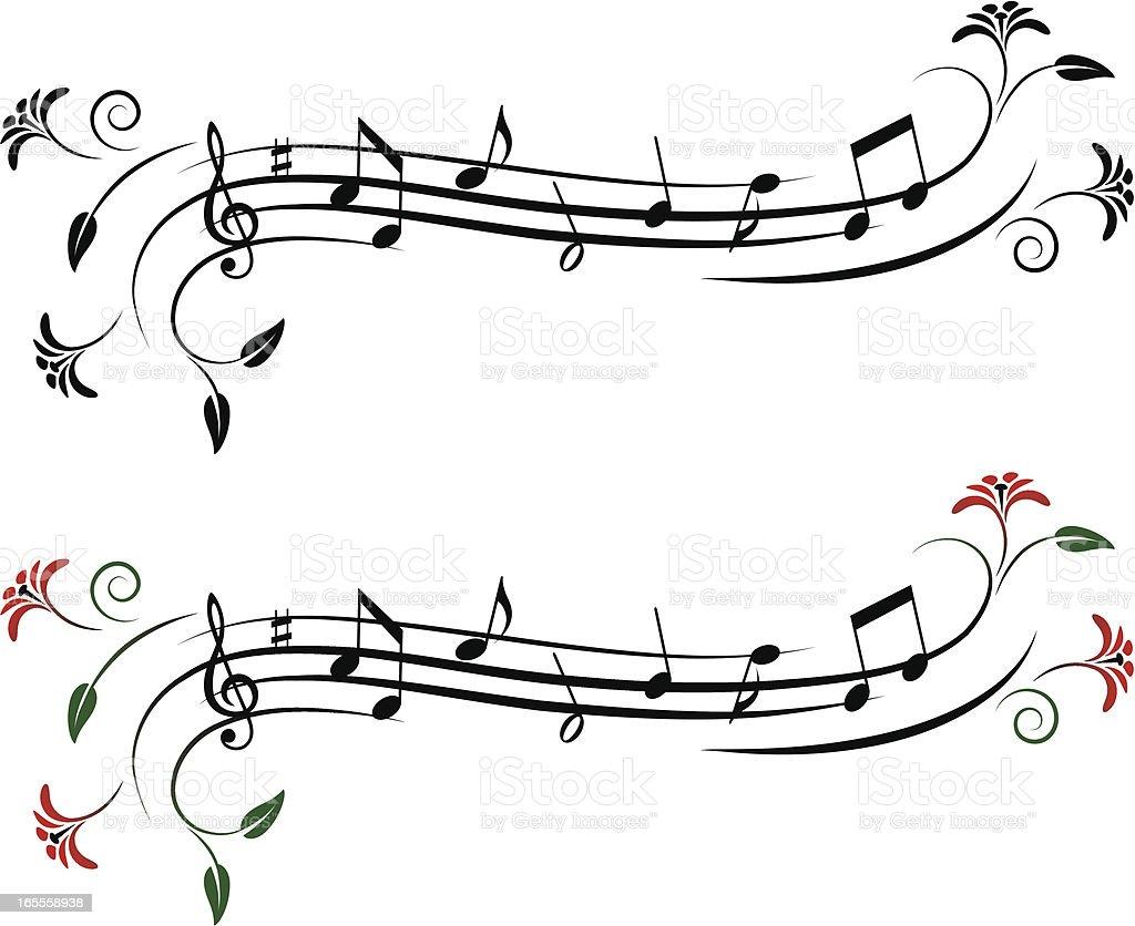 Musical design element royalty-free stock vector art