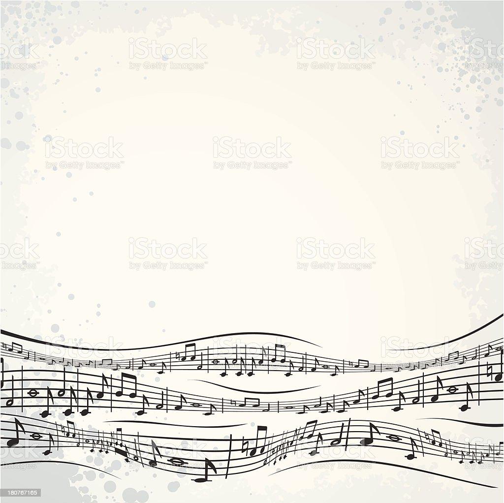Musical Sheet royalty-free stock vector art