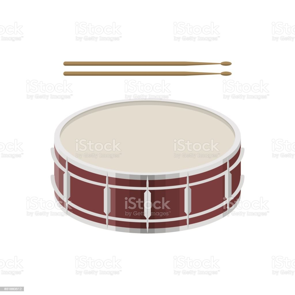 Musical_instruments vector art illustration