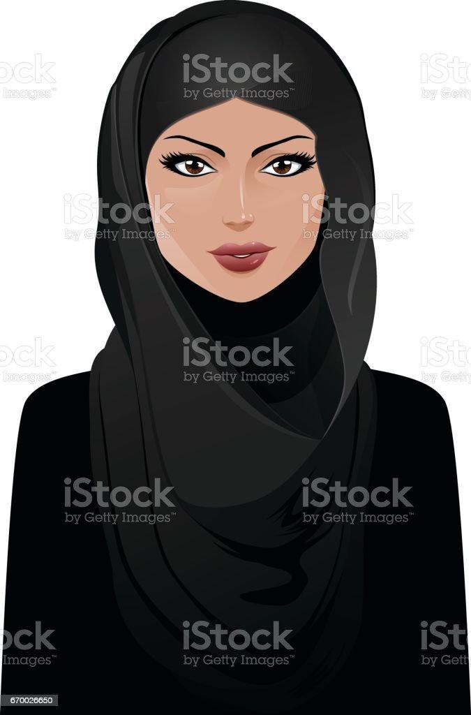 Muslim vector art illustration
