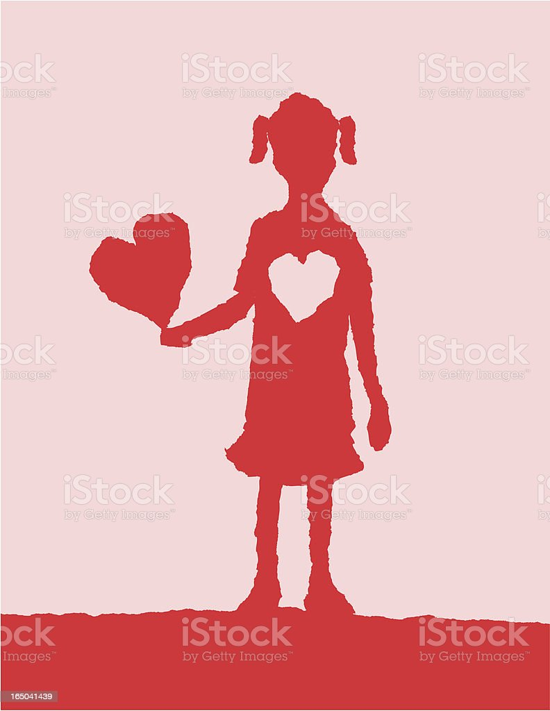 My Heart is Yours royalty-free stock vector art