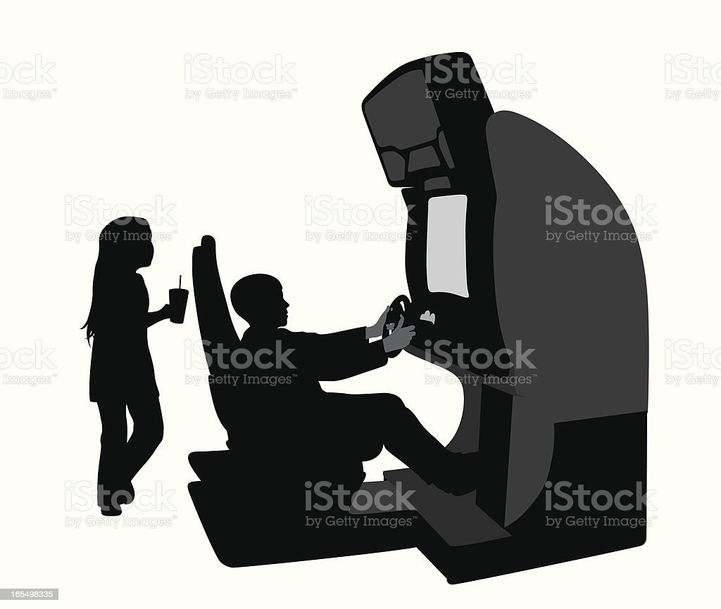 My Kids Vector Silhouette royalty-free stock vector art