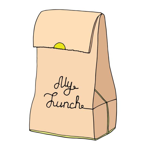 lunch bag clipart - photo #45