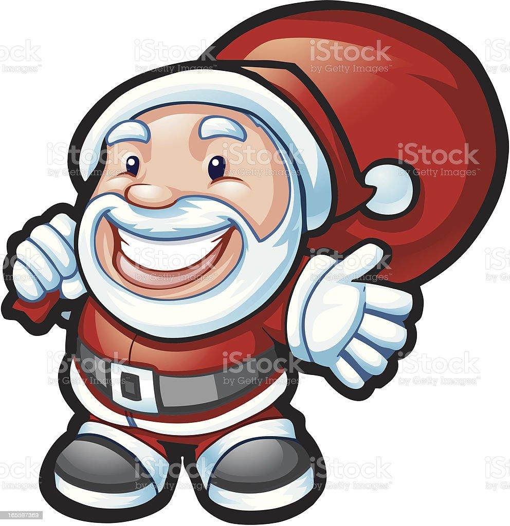 My Santa royalty-free stock vector art