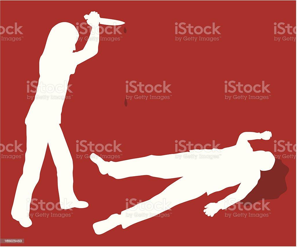 Mystery Novel Crime ( Vector ) vector art illustration