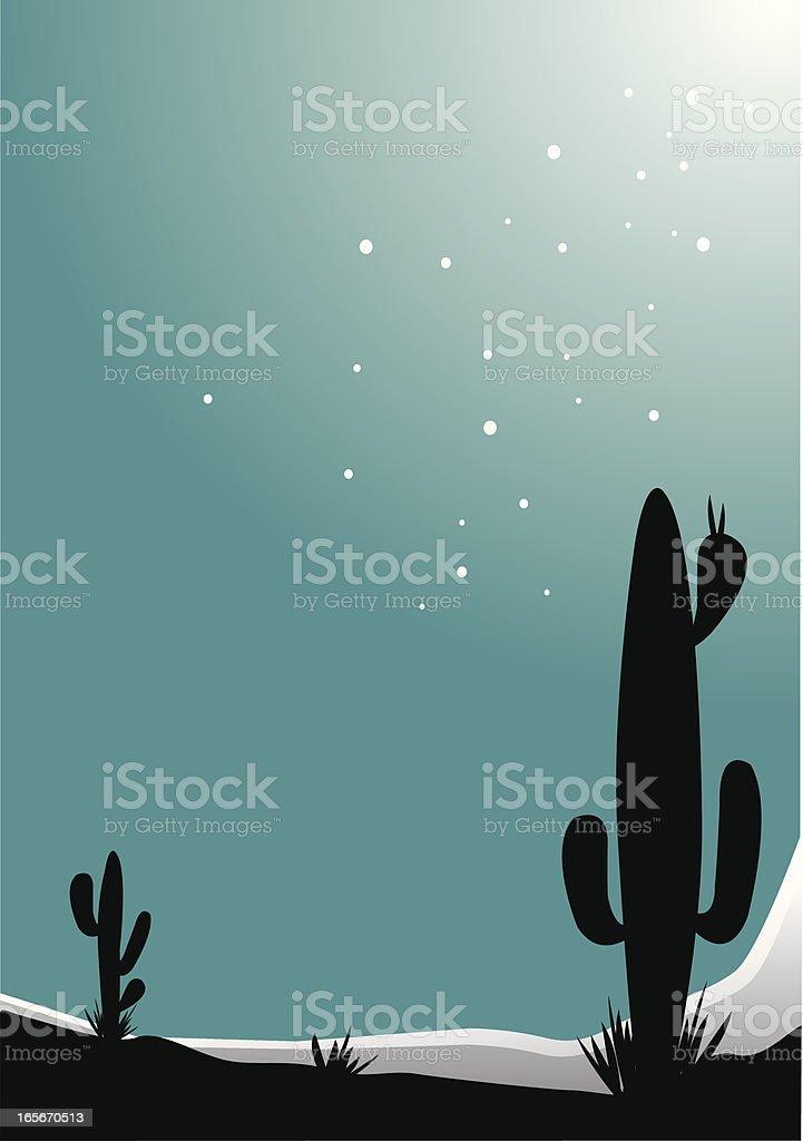 mystery of desert royalty-free stock vector art