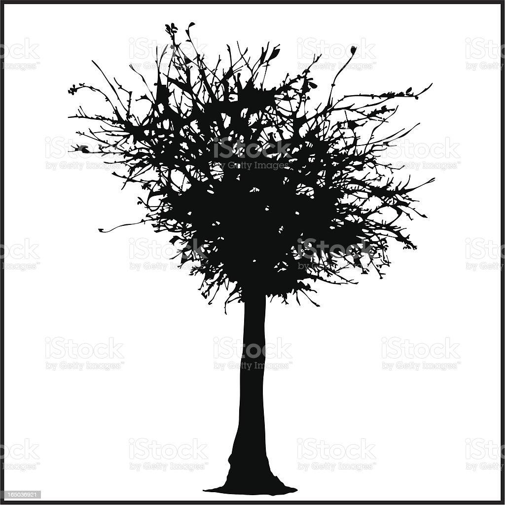 Mystic Tree royalty-free stock vector art