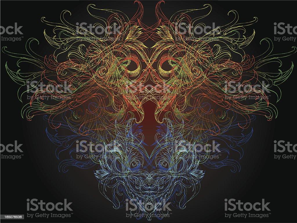 Mystische presense Lizenzfreies vektor illustration