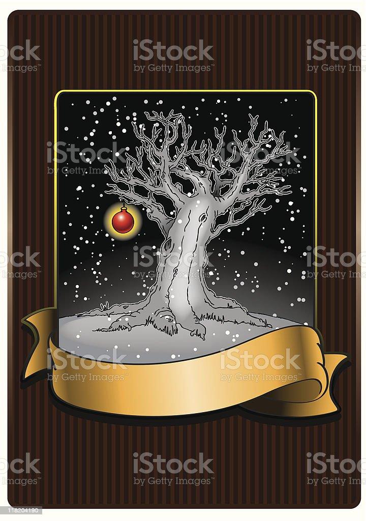 Naked Tree royalty-free stock vector art