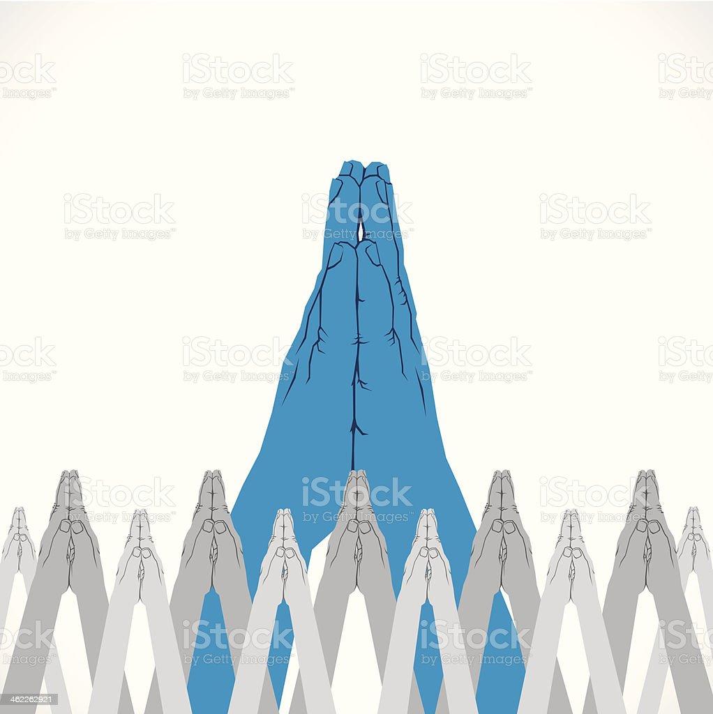 namaskar background royalty-free stock vector art