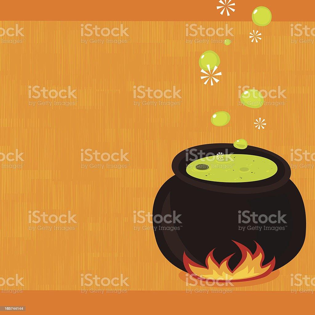 Nasty stew vector art illustration