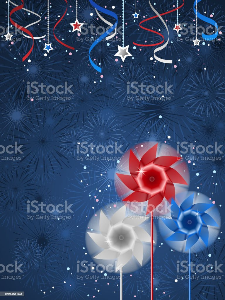 National Day Background royalty-free stock vector art