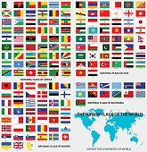 National flags of the world