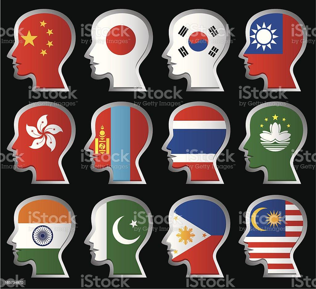 Nationality Flag royalty-free stock vector art