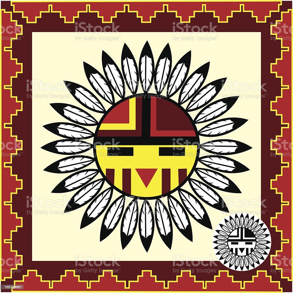 Native Indian Symbol royalty-free stock vector art