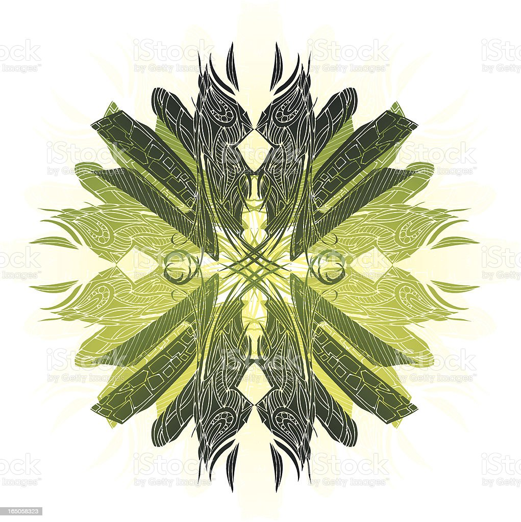 Native mandala Lizenzfreies vektor illustration