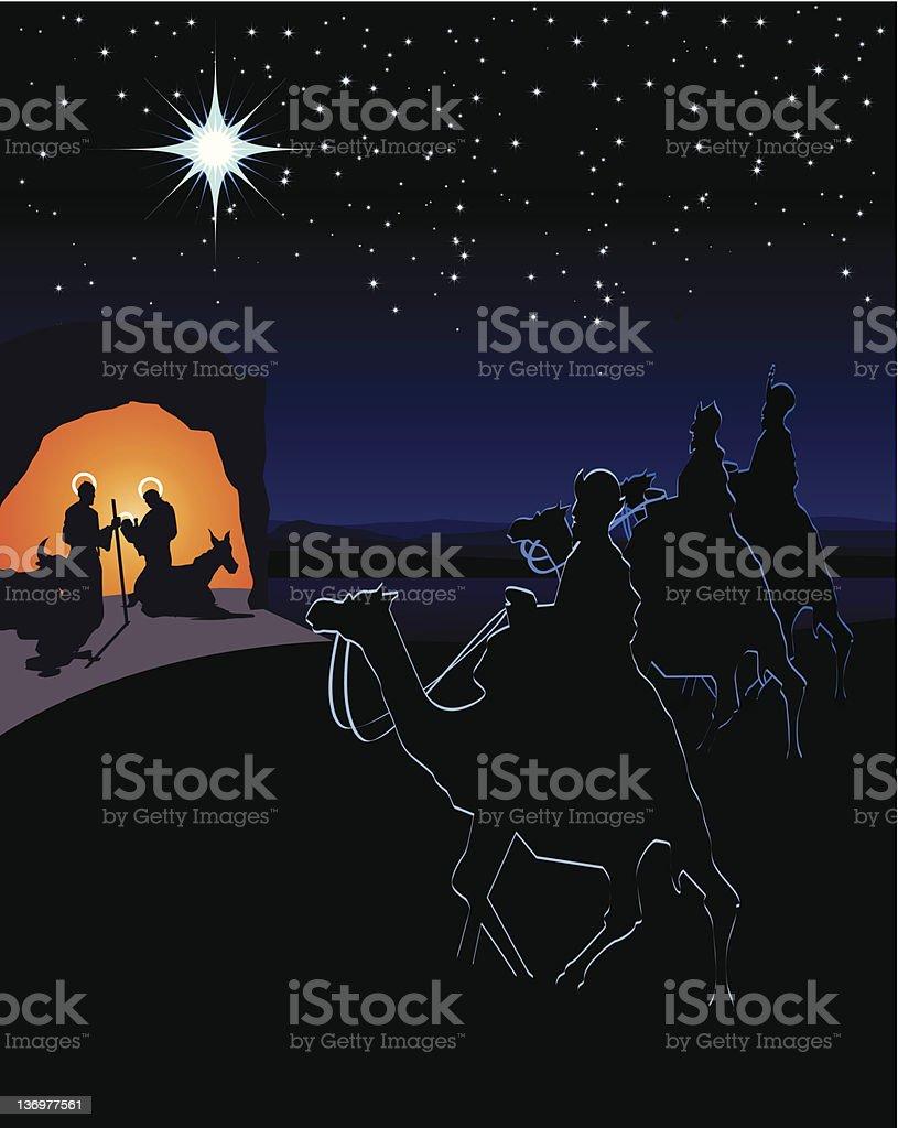 Natividad royalty-free stock vector art