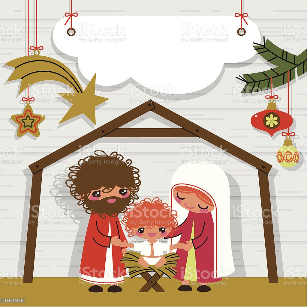 Nativity. royalty-free stock vector art