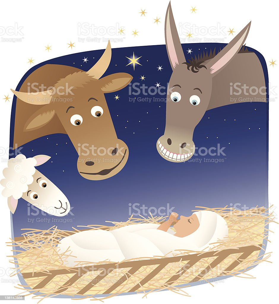 Nativity royalty-free stock vector art