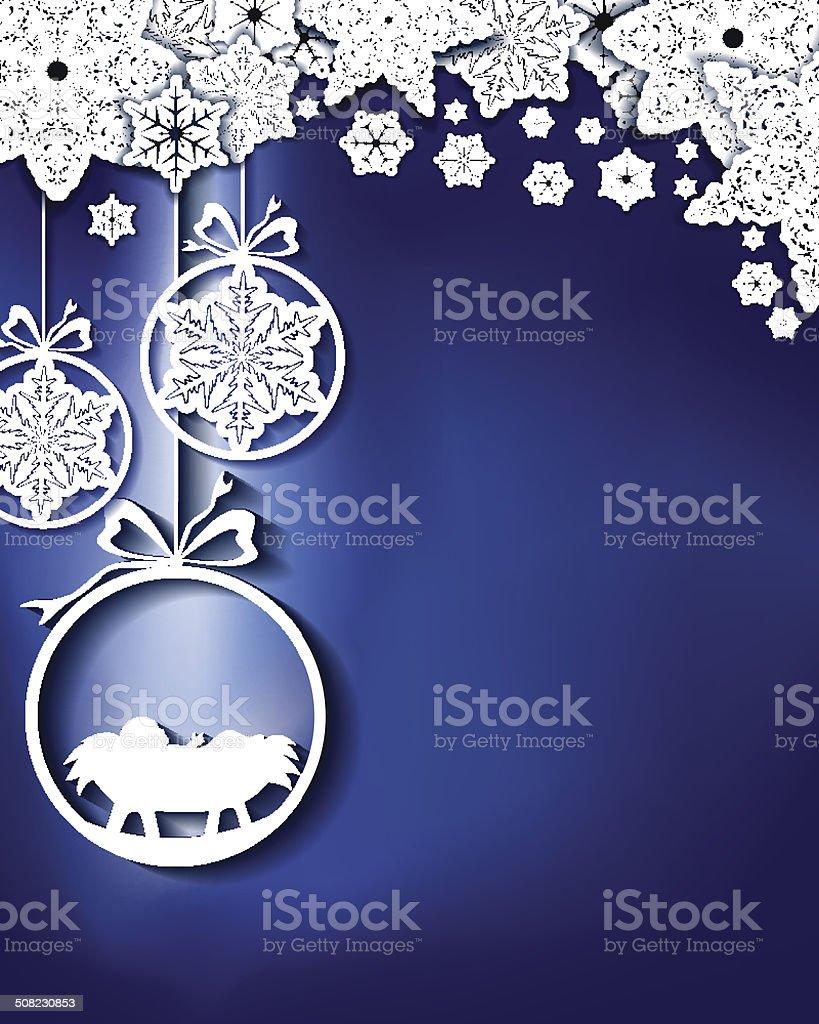 Nativity vector art illustration