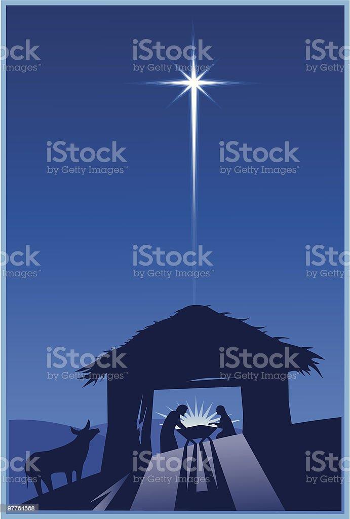 Nativity royalty-free stock vector art