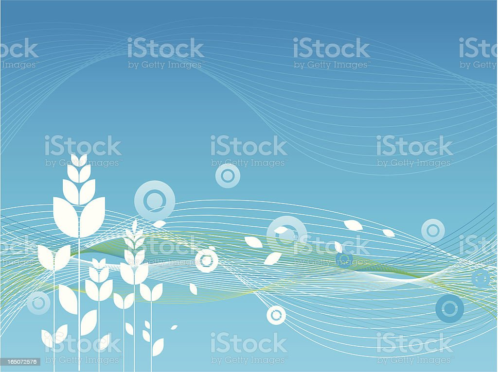 Natural Background royalty-free stock vector art