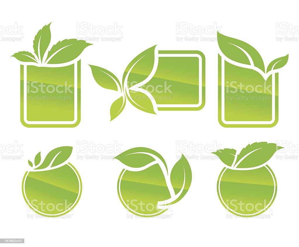 Natural empty icon royalty-free stock vector art