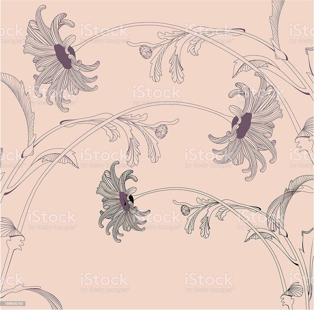 Natural floral design royalty-free stock vector art
